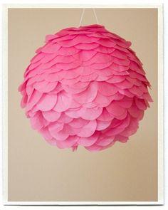 Love this for a Hot Air Balloon PINATA... Just need to make it look like a hot air balloon!!!
