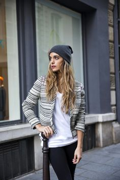 stella wants to die: PRIMARK jacket + beanie - París