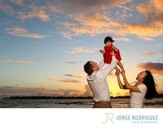 Jorge Rodriguez Photography - Destination Wedding Photography & Portrait based in Playa del Carmen, covering Tulum, Cozumel, Isla Mujeres, Cancun & Riviera Maya Mexico  - Barcelo Hotels & Resorts Riviera Maya Family Portrait: Miranda & Mike invited me to witness Maddie's first steps at Barcelo Hotels Riviera Maya, thank you for sharing this beautiful moment with me. We were very lucky after the rain we ran to the beach for the last photos, the sunset was just happening, it was breathtaking…