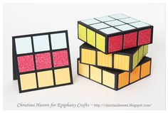 Cube It Up with Our Square Punch | Epiphany Crafts