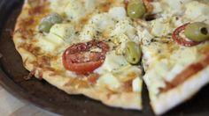 Descobri essa receita com um amiga muito querida e me apaixonei! Eu amo de paixão a receita de pizza…