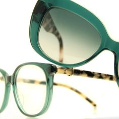 Robert Marc Eyewear 860 and 919 in Lotus Leaf! #robertmarc #marcyourstyle #luxury #eyewear