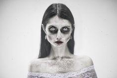 """""""Halloween II"""" —Photographer: Katarina Grajcaríková - GFOTO. SKModel: Lucia Morticia Doktorová"""