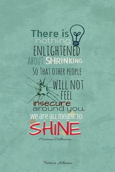 From the movie Coach Carter. (Our deepest fear)  #quotes #patriciadrienne