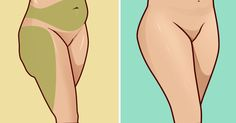 Of all the areas of the body where unwanted fat accumulates, the 'saddlebags' on the sides of the hips, thighs, and buttocks just might be the most difficult to eliminate. Lose Fat Workout, Hip Workout, Workout Ideas, Effective Ab Workouts, Easy Workouts, Hip Reduction, Hip Fat Loss, Hip Fat Exercises, Rid Belly Fat