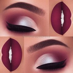 21 makeup ideas for Thanksgiving dinner - Samantha Fashion Life- Make-up-Ideen für das Thanksgiving-Dinner – Samantha Fashion Life 21 makeup ideas for the Thanksgiving dinner- 21 makeup ideas for the Thanksgiving dinner: # FALL PURPLE SHADES; Maquillage On Fleek, Maquillage Kylie Jenner, Eyeshadow Makeup, Eyeliner, Hair Makeup, Makeup Brushes, Bride Makeup, Cosmetic Brushes, Makeup Box