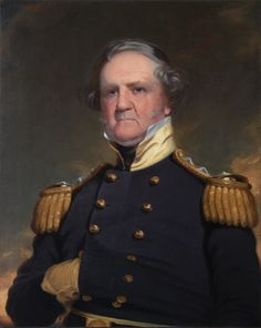 Robert Weir, General Winfield Scott, oil on canvas, 33¾ × 26Y in., West Point Museum Art Collection, U.S. Military Academy, West Point, New York.