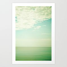 Breathe Art Print by Olivia Joy StClaire | Society6