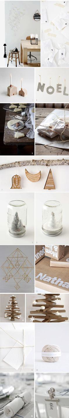HEY LOOK: MORE SIMPLE HOLIDAY INSPIRATION: NEUTRAL + WHITE + WOOD