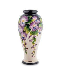 """Ваза для цветов из фарфора """"Глициния"""" BS-34 / Коллекция Blue Sky / Вазы, кашпо, цветы / Каталог / R-Gifts – интернет магазин подарков и сувениров.  #decor #gift #giftidea #pavone #porcelaine #vase #vases #ваза #вазадляцветов #вазы #подарок #фарфор"""