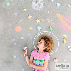 With our easy recipe, you can make sidewalk chalk in fun shapes using ice pop or silicone baking molds.