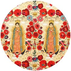 Folklorico, La Virgencita, by Alexander Henry. Just love Mexican religious icons.