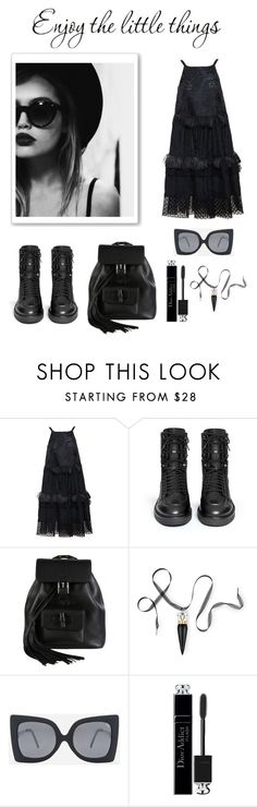 """Enjoy the Little Things"" by conch-lady ❤ liked on Polyvore featuring Rochas, Ash, Gucci, Christian Louboutin, Quay and Christian Dior"