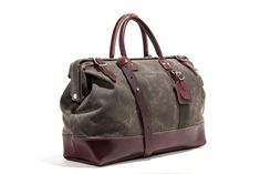 Billykirk No. 166 Large Carryall, Olive Waxed