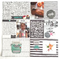Week by Miriam Rodriguez using November gather Cocoa, Project Life Album, A Day In Life, Studio Calico, Digital Scrapbooking, Scrapbooking Ideas, Life Photo, Smash Book, Life Inspiration