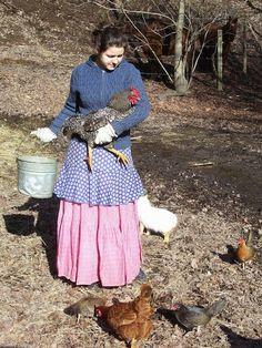 tending the little flock at Homestead-blessings