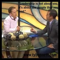 """Leadership is not about you - it's about the people that you lead."" ‪#‎leadership‬ ‪#‎influence‬ ‪#‎partnership‬"