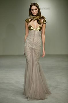 Spring 2004 Ready-to-Wear  Vera Wang  Dovile Virsilaite