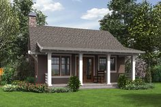 Tour the Willowdale Bungalow Home that has 1 bedroom and 1 full bath from House Plans and More. See highlights for Plan Bungalow Style House, Small Bungalow, Bungalow Homes, Bungalow House Plans, Craftsman Style House Plans, Small House Plans, House Floor Plans, Craftsman Bungalow Exterior, Bungalow Porch