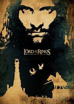 Der Herr der Ringe-Trilogie und The Hobbit Film von TopPoster
