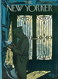 """December 1, 1962,"" by Arthur Getz ~ The New Yorker."