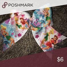 "Disney Fairies Hair Bow 🎀 Pick any 2 bows from my closet for $10!!🎀 3"" Ribbon, handmade Disney fairies Hair Bow, smoke/pet free home! Disney Accessories Hair Accessories"