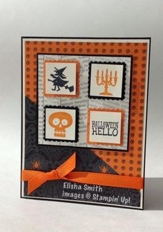 Halloween Hello by smitel - Cards and Paper Crafts at Splitcoaststampers