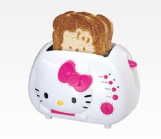 Pin for Later: 20+ Quirky White Elephant Food Gifts Hello Kitty Toaster Hello Kitty toaster ($38)