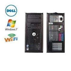 Dell 755 Optiplex Computer, Wireless Ready Intel's Powerful & Efficient Core 2 DUO E8400 3.0GHZ CPU Processor, Amazing 1333MHz Bus Speed & 6MB Cache 4GB DDR2 High Performance Memory, Large 1000GB (1 TB) SATA Hard Drive, DVDRW/CDRW Play's and Burn's Both CD'S and DVD'S Windows 7 Professional 64BIT with Restore Cd - http://tulip-ego.com/computers/dell-755-optiplex-computer-wireless-ready-intels-powerful-efficient-core-2-duo-e8400-3-0ghz-cpu-processor-amazing-1333mhz-bus-speed-6