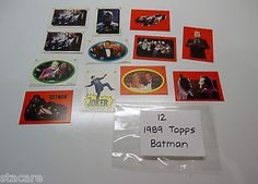 12 Collectible 1989 TOPPS BATMAN MOVIE TRADING CARDS - http://hobbies-toys.goshoppins.com/tv-movie-character-toys/12-collectible-1989-topps-batman-movie-trading-cards/
