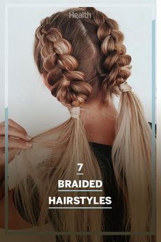 From elegant braids, sporty braids to sexy braids, here's the how-to for these trendy looks that you can do on your own at home. #braids #hairstyles