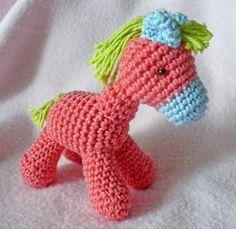 Amigurumi pony