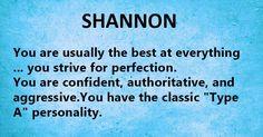 Nicknames for shannon