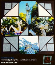 #leafrance#pintowin#summer - Photo Collage Created by Jacquie, Lea France designer using Stained Glass.