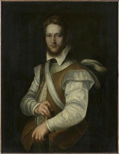 Federico BAROCCI. Portrait of a man [oil on canvas, transfered from panel], late 1560s-1580s.