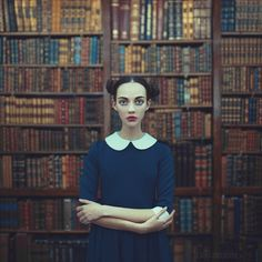 a girl from a library by Anka Zhuravleva - Photo 149996717 / 500px