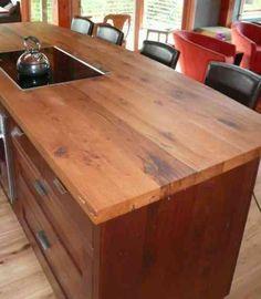 68 Id Es Pour Un Comptoir De Cuisine En Bois Design Wooden Kitchen Countertopsreclaimed