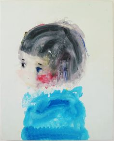 Minoura Kentaro #japanese #painting @injoyingjapan #modernart  Completely and utterly in love with this simple little painting. Will make it a focal point in a personal journal page.