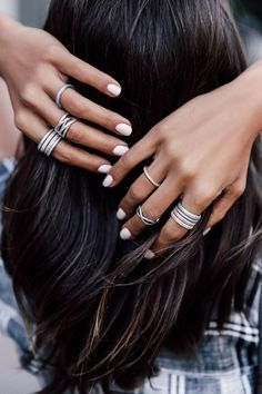 VivaLuxury - Fashion Blog by Annabelle Fleur: MY JEWELRY STACKS: DAY VS NIGHT
