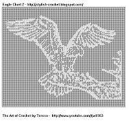Free Filet Crochet Charts and Patterns: Crochet Art Yarn thread hook Doily Lace knit knitting clothes Hobby tjw1963 Teresa Richardson