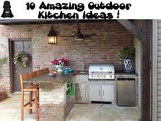 10 Amazing Outdoor Kitchen Ideas