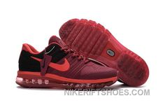 0ea66b79cf4 Authentic Nike Air Max 2017 KPU Wine Red Black Top Deals Rkbwi
