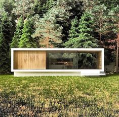 Get the (guide+plans) to build Shipping Container Home: . - Contains A-Z instructions for building container home and a variety of plans🏚 -… Container House Design, Tiny House Design, Modern House Design, Casas Containers, Shipping Container Homes, Shipping Containers, Tiny House Cabin, Garden Studio, Garden Buildings