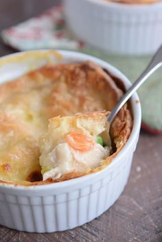 The Best Chicken Pot Pie {Biscuit OR Pie Crust Topping!}