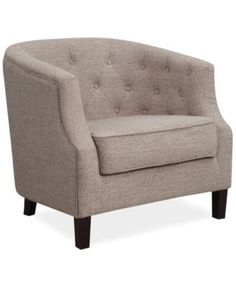 """inexpensive alternate to west elm chair- doesn't swivel, but it would be easy to turn- looks light. not as good quality as west elm, not as comfortable. but good look for the price. this could allow you to get 2 new chairs for the price of one. one for sunroom, one for living room. color- cocoa. Then a nice 20"""" x 20"""" accent pillow on this chair."""