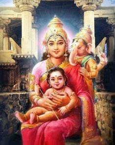 Adi Parashakti, is a principal and popular form of the Hindu Goddess Lord Murugan Wallpapers, Lord Krishna Wallpapers, Lord Ganesha Paintings, Lord Shiva Painting, Swan Painting, Saraswati Goddess, Shiva Shakti, Kali Goddess, Durga Maa