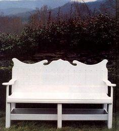 How to Build an English-Style Burkholder Range Garden Bench