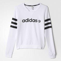 adidas Branded Sweatshirt - weiß | adidas Austria