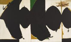 Elegy to the Spanish Republic, 108 Robert Motherwell (American, 1915-1991). MoMA, NYC | by renzodionigi