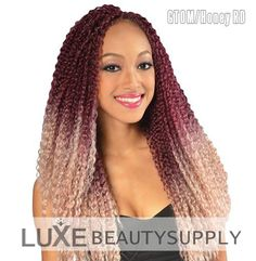 synthetic hair braids janet collection noir afro twist
